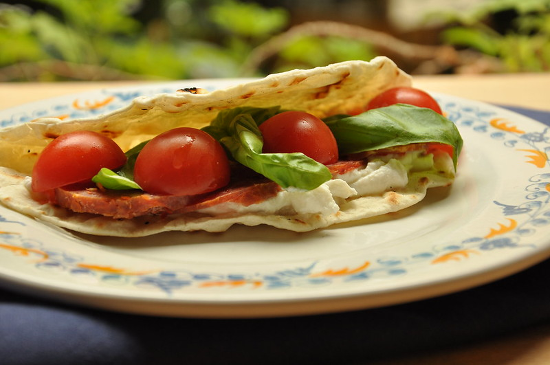 Italian Flat Bread: Piadina with Thermomix