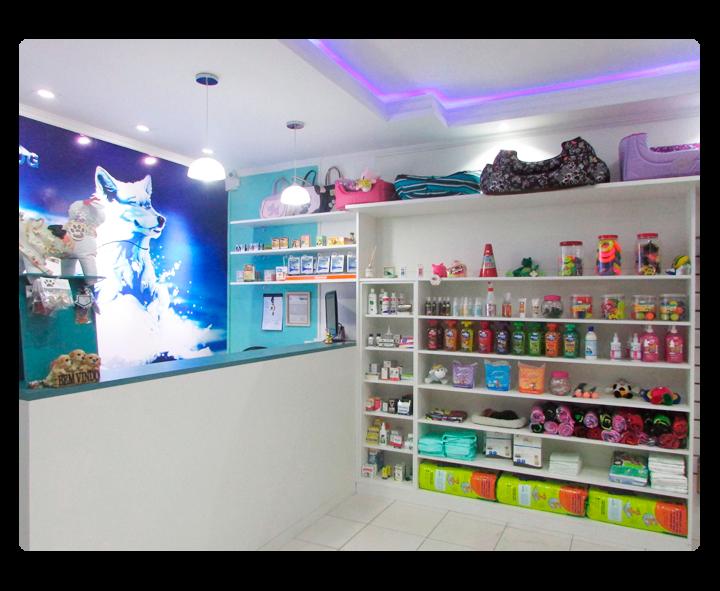 A loja possui o diferencial de oferecer uma grande variedade de opções de  marcas, fabricantes e produtos para atender a necessidade dos animais de  estimação ... a6237e10b0