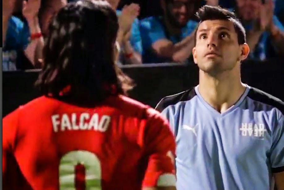 Puma activa el derbi de Manchester con Agüero y Falcao