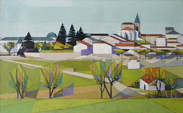 Contoh aliran seni lukis Kubisme