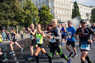 Berlin-Marathon Halbmarathonmarke