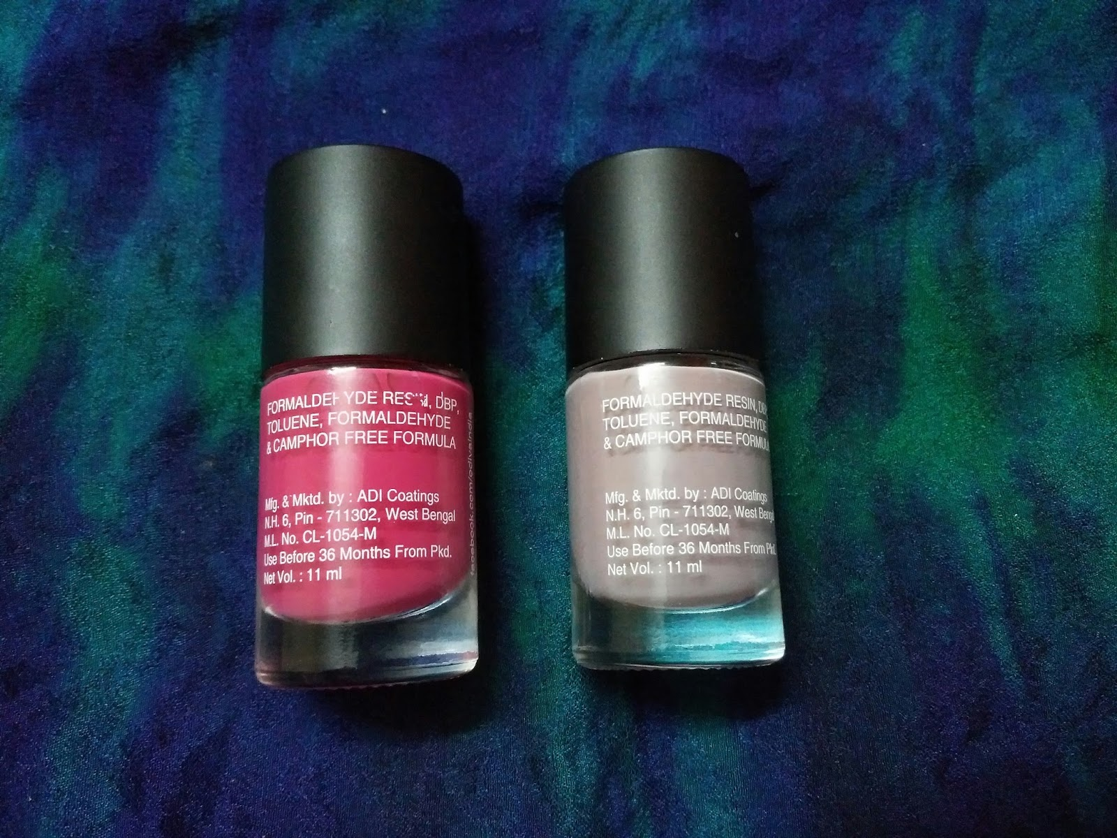 Beautycon:Styling You: ODIVA Gel Nail Paints Review