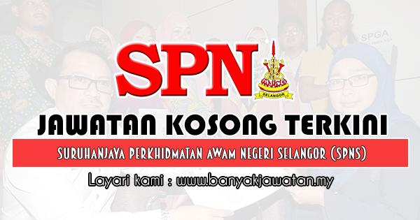 Jawatan Kosong 2019 di Suruhanjaya Perkhidmatan Awam Negeri Selangor (SPNS)