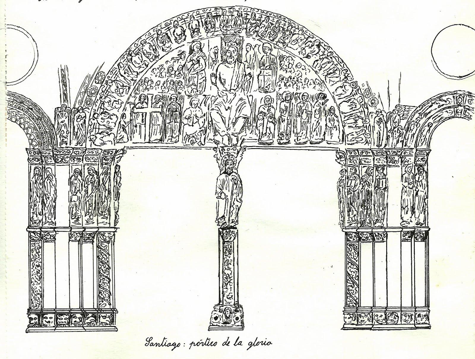 Perez Davila: Portico de la gloria (Catedral de Santiago