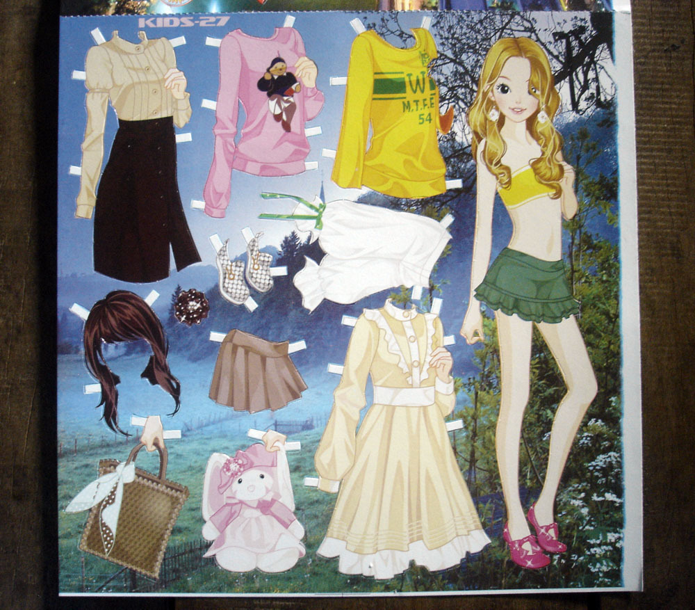 Dress Up: Miss Missy Paper Dolls: Dress Up Games Paper Dolls