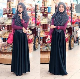 Model Baju Muslim Buat Kuliah