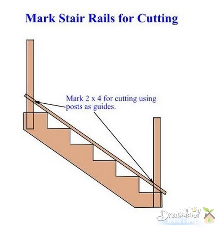 How To Build Deck Stairs Directions For Building Stairs Railings Deck - Building deck stairs railing