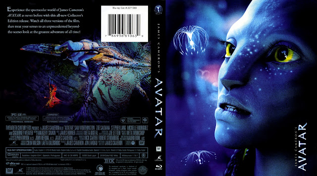 Avatar Bluray Cover