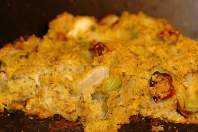 Gluten-Free Cornbread Stuffing / Dressing Recipe