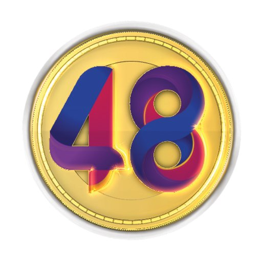 هوية شعار العيد الوطني الـ 48 المجيد