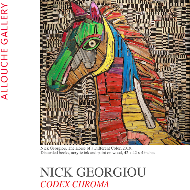 """Nick Georgiou: Codex Chroma"" Exhibition at Allouche Gallery"