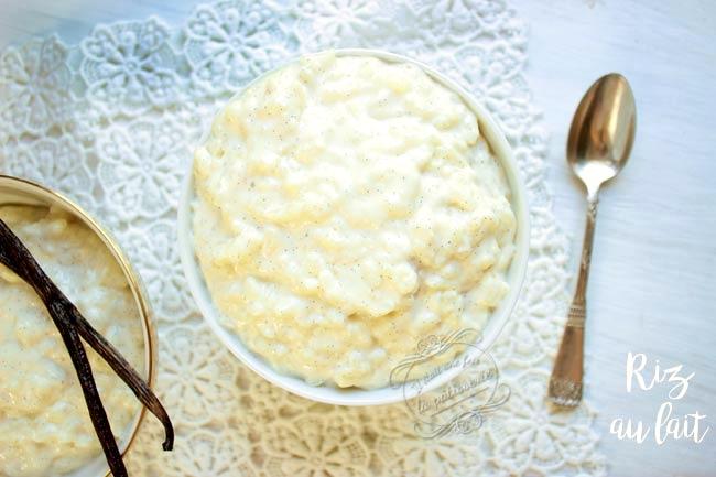 recette riz au lait facile