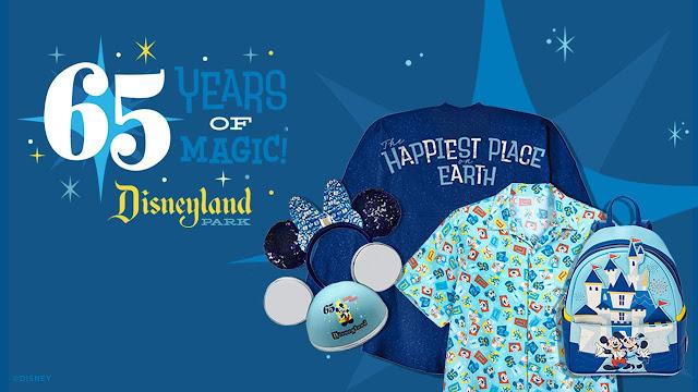 Disneyland Park 65th Anniversary Merchandise Online