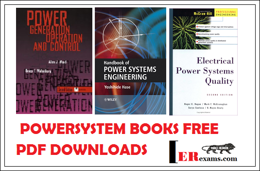 Power System Books Free Pdf Downloads Engineering Exams