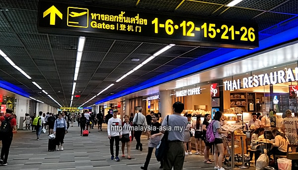 Boarding Gates Don Mueang Airport
