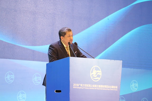 Pidato Fahri Hamzah dalam Acara Maritime Silk Road International Expo 2018