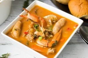 Caribbean Seafood Soup