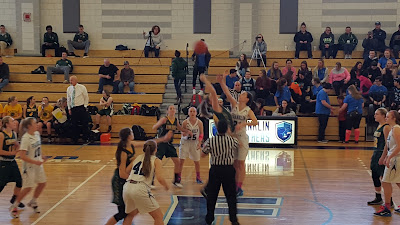 FHS Girls tip off against King Philip earlier this year