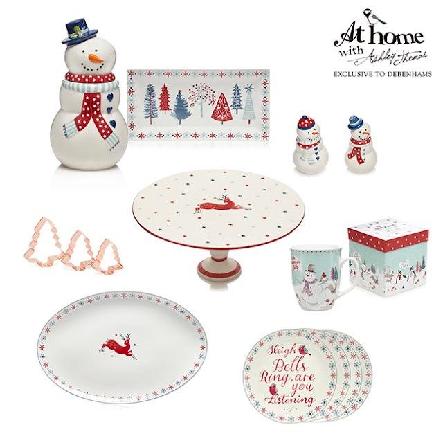 Christmas woodland bedding £30-60  sc 1 st  Ashley Thomas Design & Debenhams Christmas Collection 2016 - Ashley Thomas Design