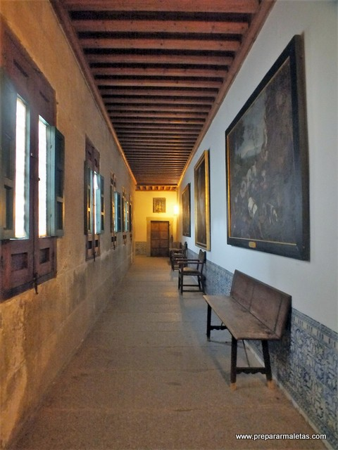 pasillos del monasterio del Escorial