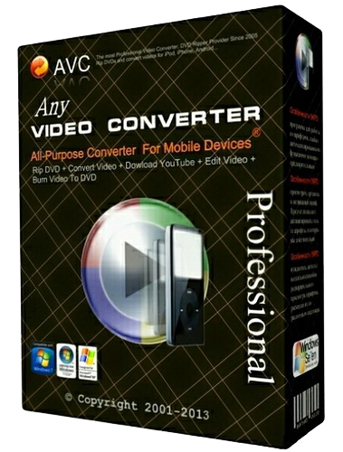 Any Video Converter Ultimate 6.0.3 Serial