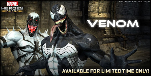 Marvel Heroes Omega - Venom available... for a limited time