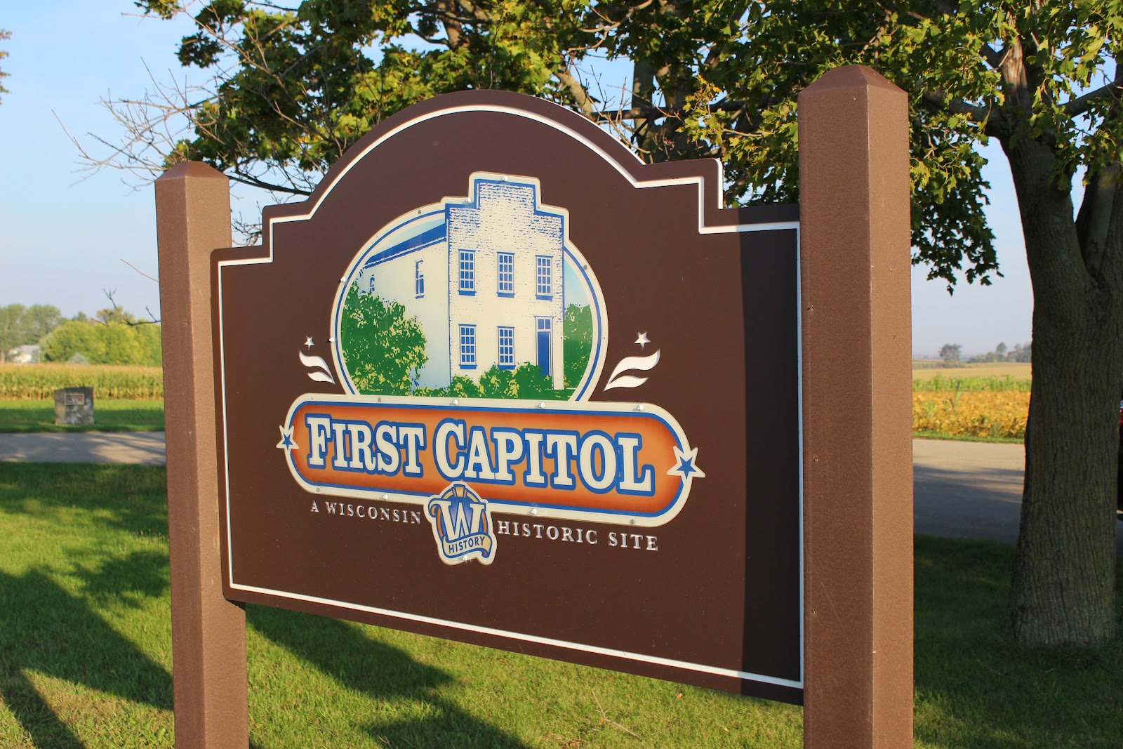 Wisconsin Historical Markers First Capitol State Park