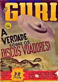 Revista de 1950 com Materias sobre Ovnis/Ufos