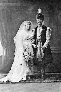 Beata i Adam Braniccy - ślub kontuszowy