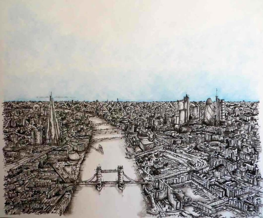 05-Over the Thames-Stephen-Watkins-Cityscapes-www-designstack-co