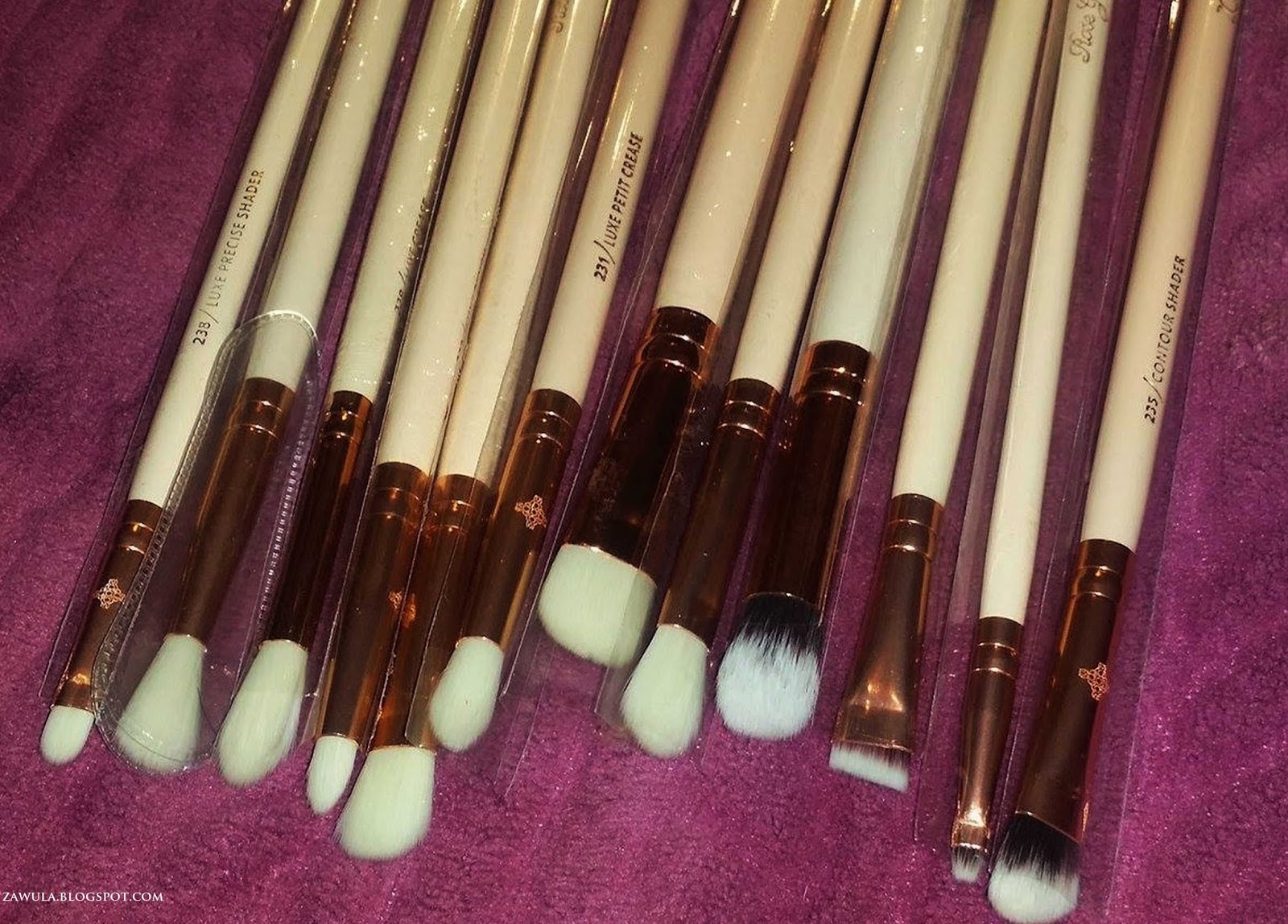 aliexpress zoeva brushes review