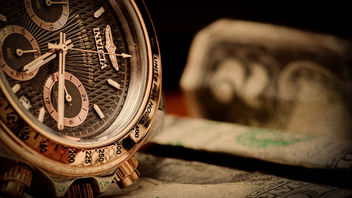 Wallpaper: Time is Money
