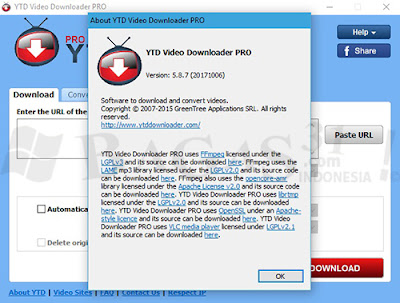 Full Pack Youtube Downloader Pro Versi 5.8.7 GRATIS