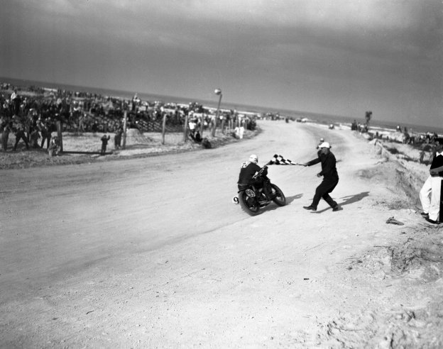 Rare Photos Of Daytona 200 From 1948 Vintage Everyday