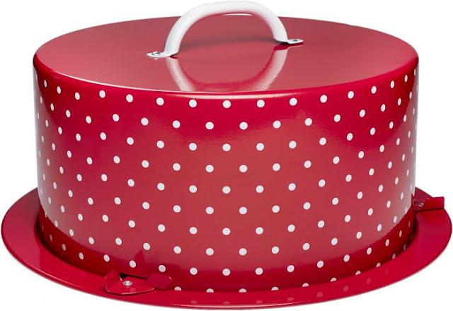 Tortenbox aus Metall von Birkmann