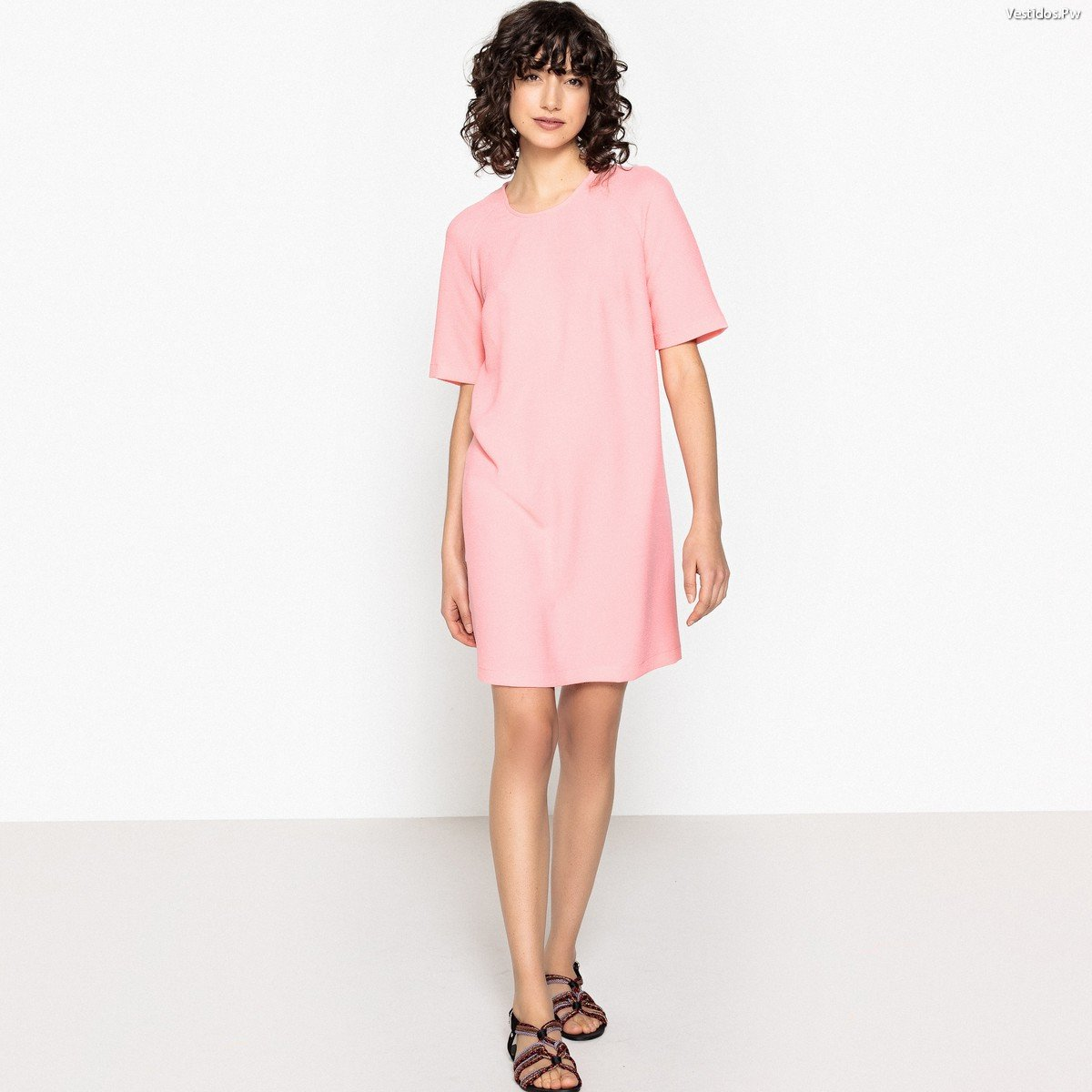 Perfecto Gran Vestido De Fiesta De Color Rosa Viñeta - Colección de ...
