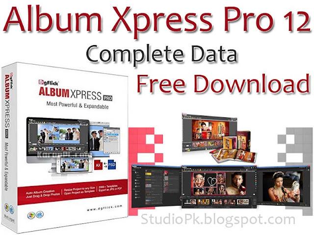 Album Xpress Pro 12 Complete Data