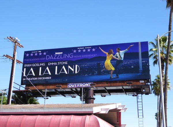 La La Land movie billboard