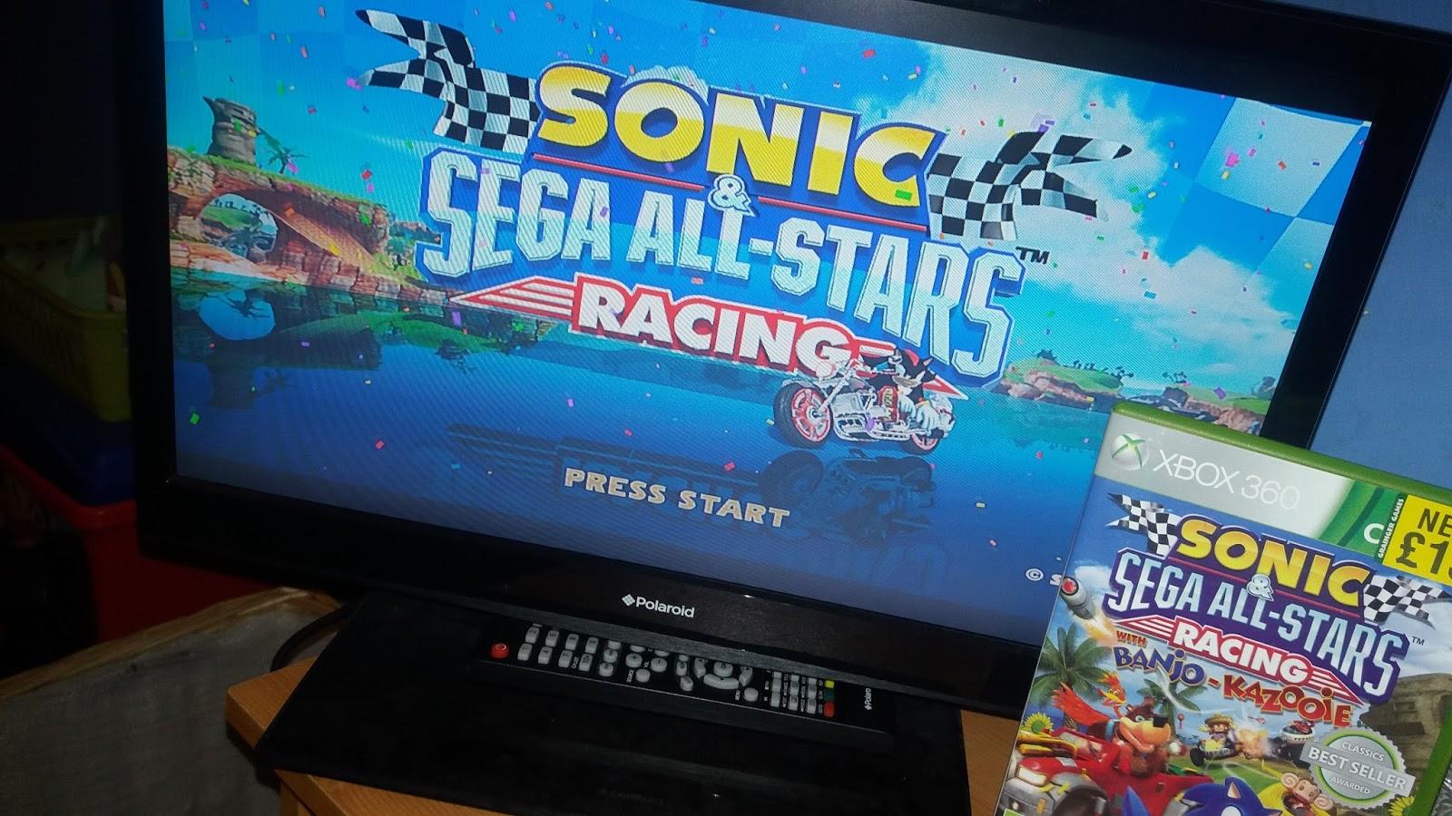 CarsonsCorner: Review of Sonic & Sega All-Stars Racing (XBOX