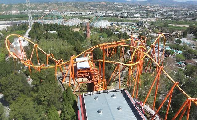 Ingressos para o Six Flags Califórnia