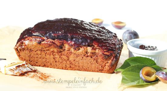 Kürbiskuchen-mit-Pflaumenmarmelade-Rezept