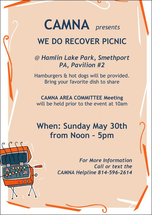 5-30 We Do Recover Picnic, Smethport