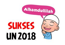 Jadwal UN 2018