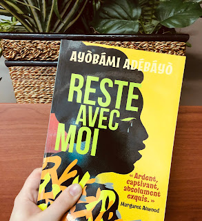 Reste avec moi, Ayobami Adebayo, Éditions Guy St-Jean