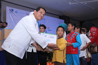 Solopeduli Ajak 100 Anak Yatim Dhuafa Buka Bersama di Hotel Brothers