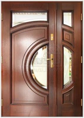 contoh Pintu rumah Kupu Tarung Klasik