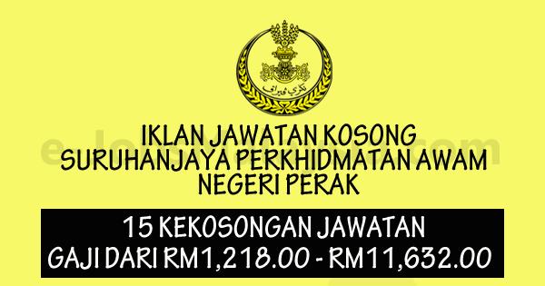Suruhanjaya Perkhidmatan Awam Negeri Perak