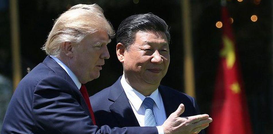 EEUU y China comenzaron una buena relación pero Trump cree que existió mucha ingenuidad en anteiror gobierno