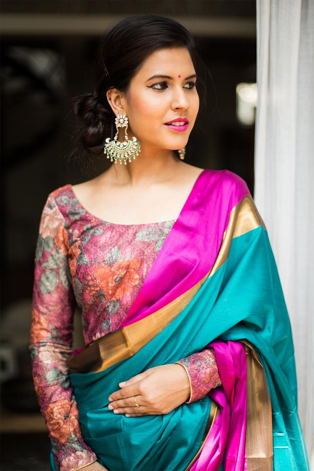 41 Latest Pattu Saree Blouse Designs To Try In 2019 Blouse