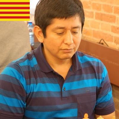 El ajedrecista GM Miguel Muñoz